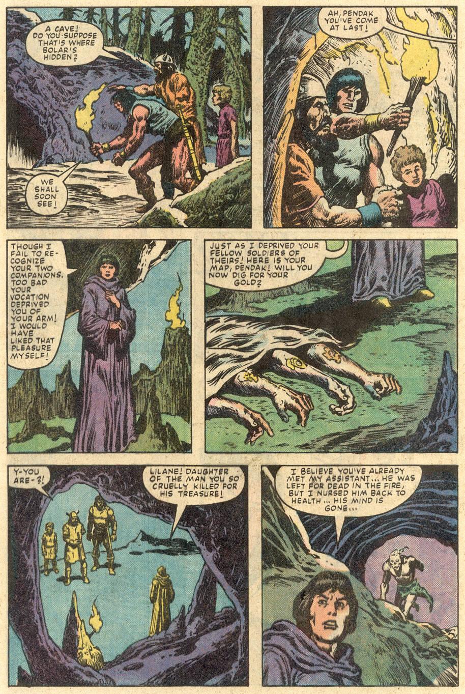 Conan the Barbarian (1970) Issue #149 #161 - English 21