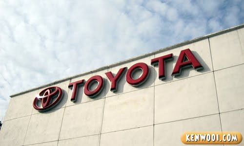 toyota logo red