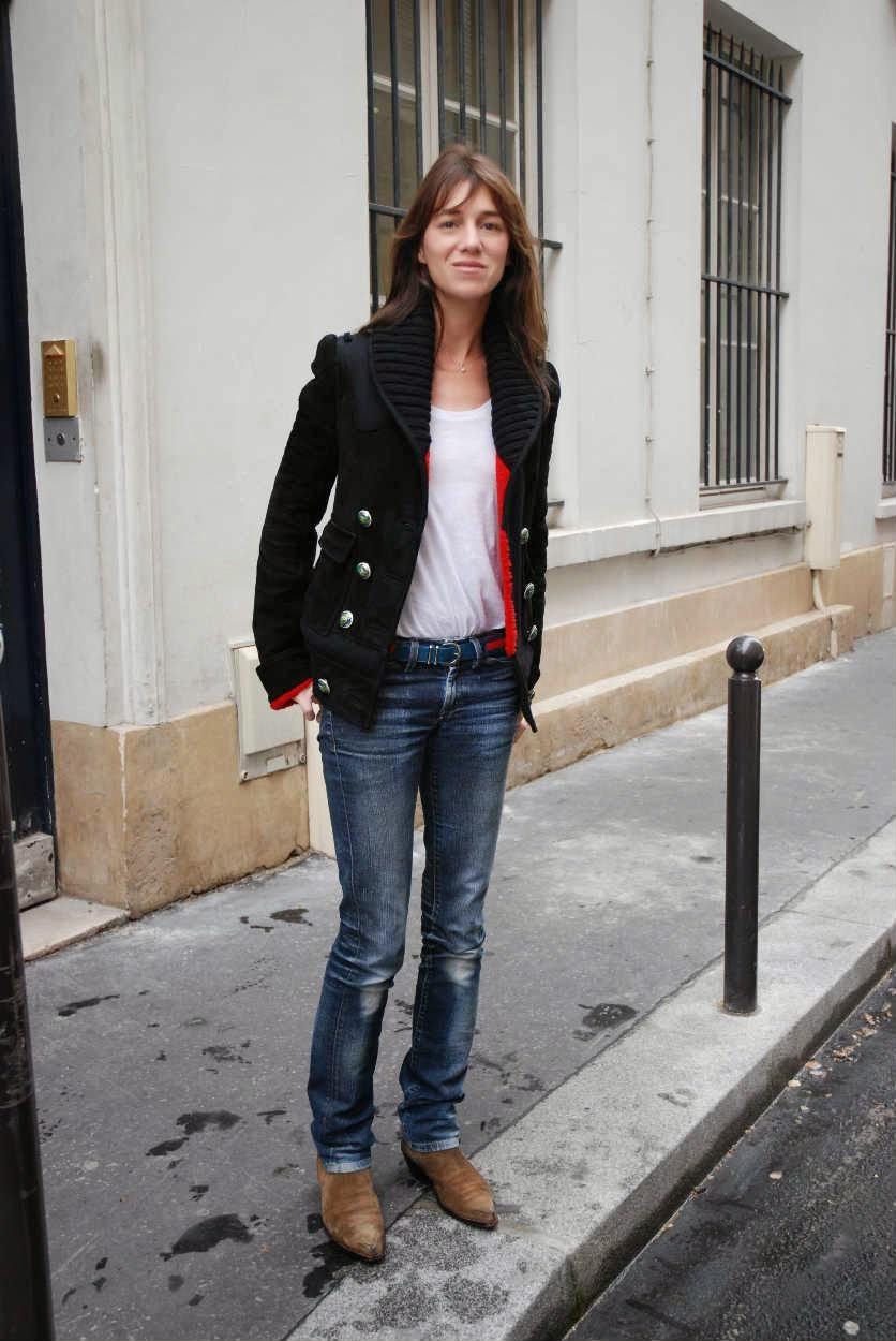 Charlotte Gainsbourg, incarnation du style bohème chic. «