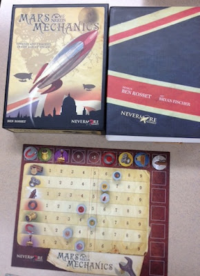 Mars Needs Mechanics board game in play