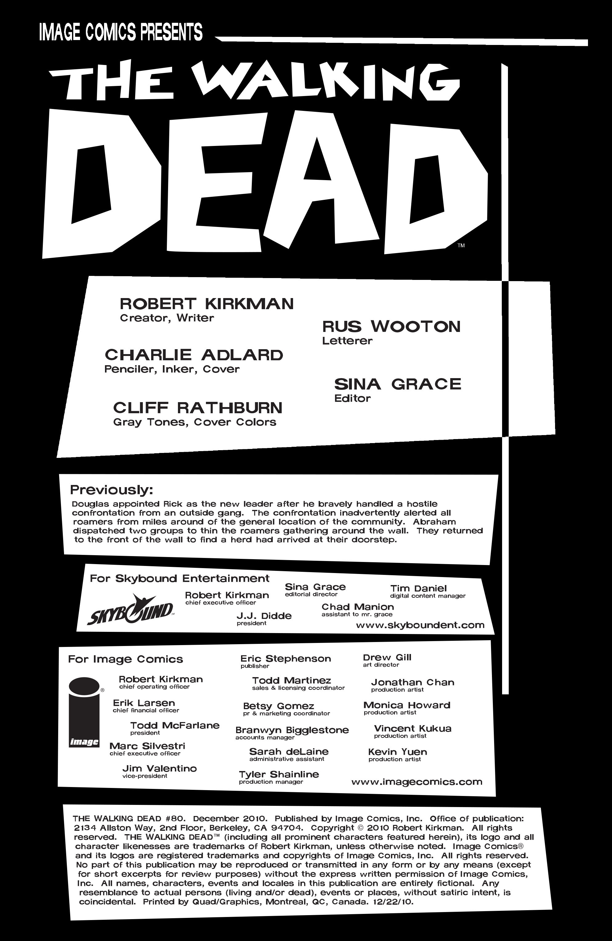 The Walking Dead 80 Page 2