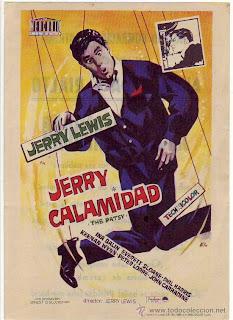 Jerry Calamidad 1964 | caratula cine clásico