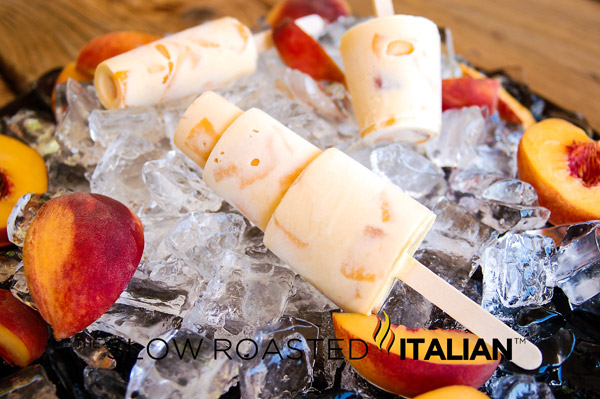 ... Slow Roasted Italian - Printable Recipes: Peaches and Cream Ice Pops