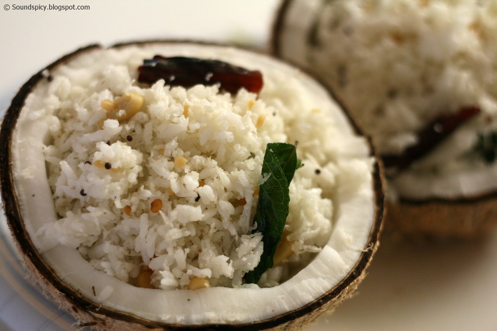 Coconut rice | Sound'spicy