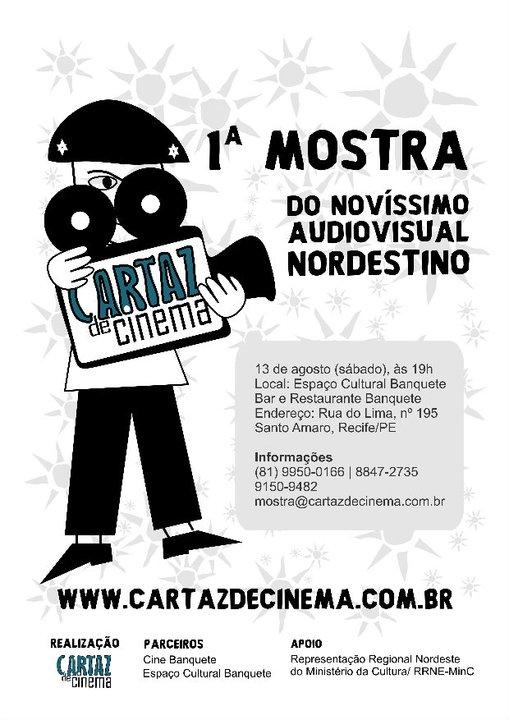 Mostra Cartaz de Cinema do Novíssimo Audiovisual Nordestino