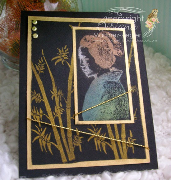asian Lost Coast Designs with perfect pearls front card