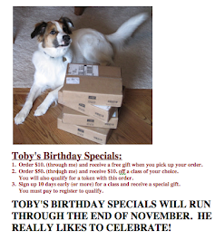 Check out what Toby Joe has planned for you.
