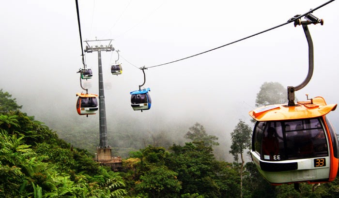 genting cable car tour