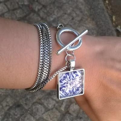 diana coelho accessories, diana coelho, diana coelho acessórios, azulejaria, azulejos, pulseira, bracelet