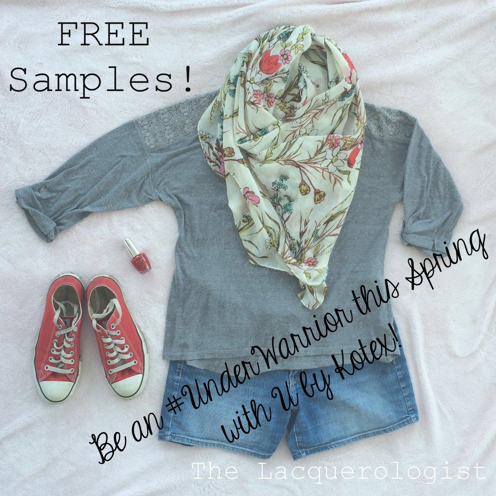 Free samples! #ad