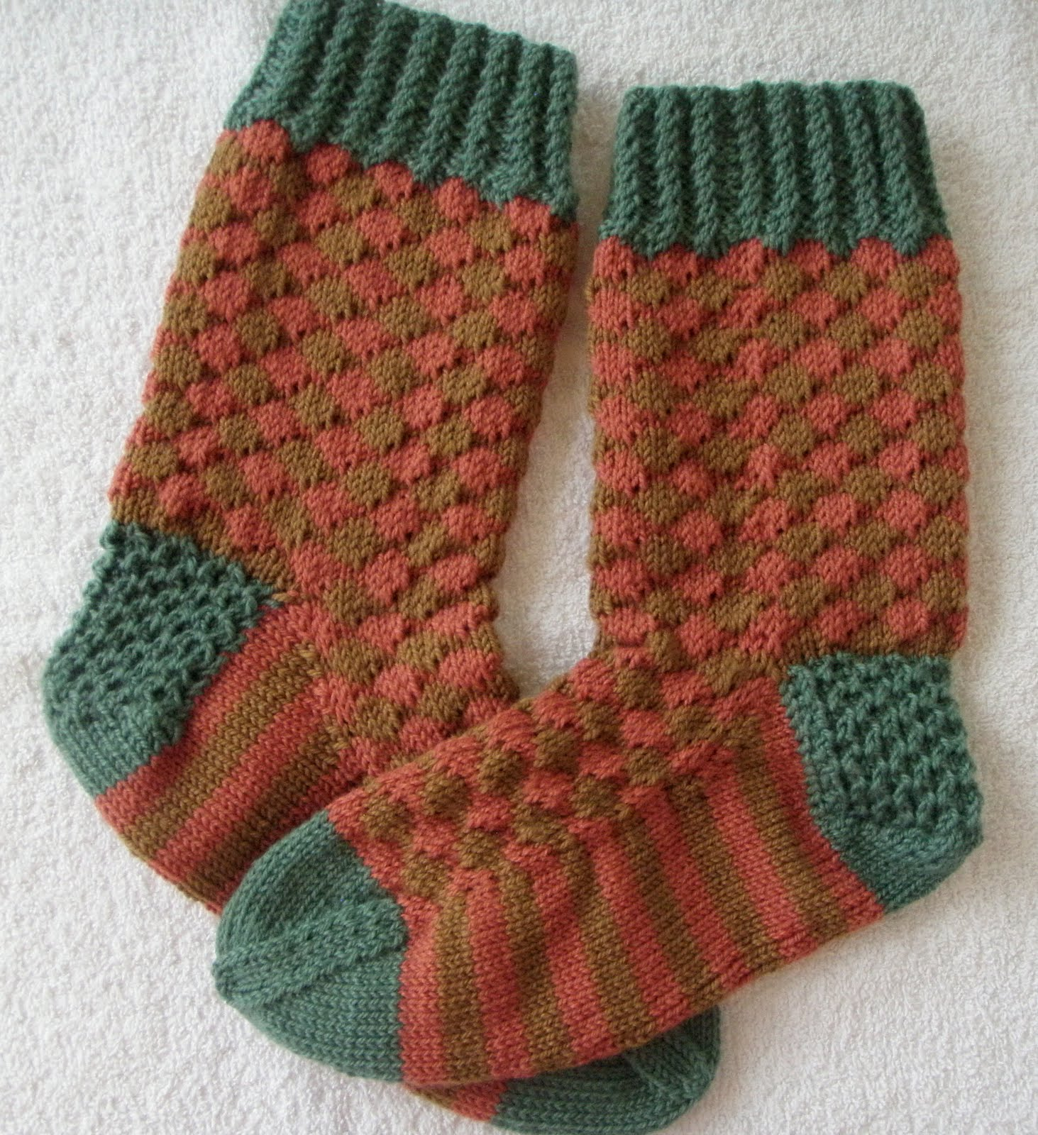 Knitting Increases For Thumb Gusset : Annbuddknits happy go lucky boot socks gusset trick and