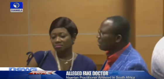 Nigerian doctor charged with corruption in South Africa