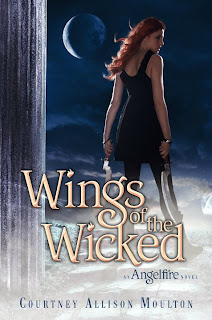 Cover Reveal: Wings of the Wicked by Courtney Allison Moulton