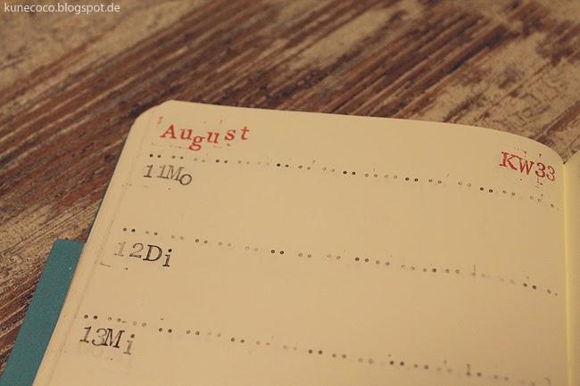 KuneCoco • DIY • Kalender selbst gestalten • Innenseiten