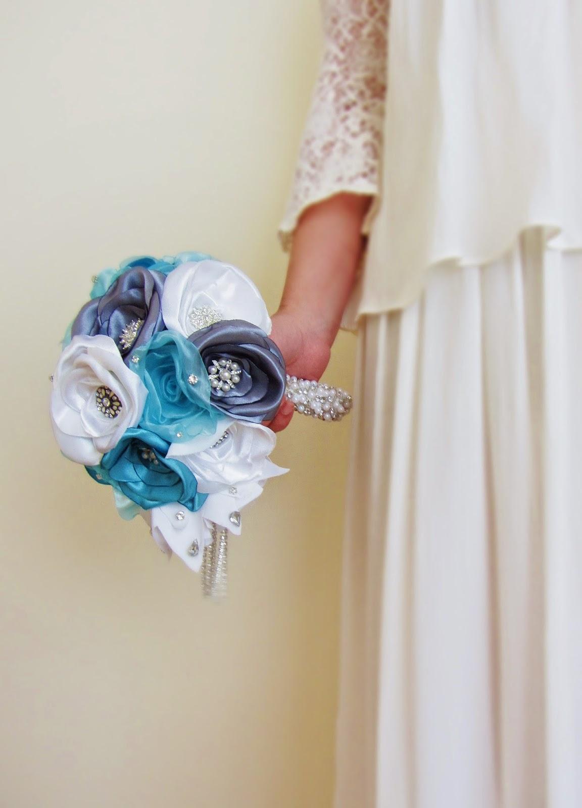 bouquet de noiva em cascata