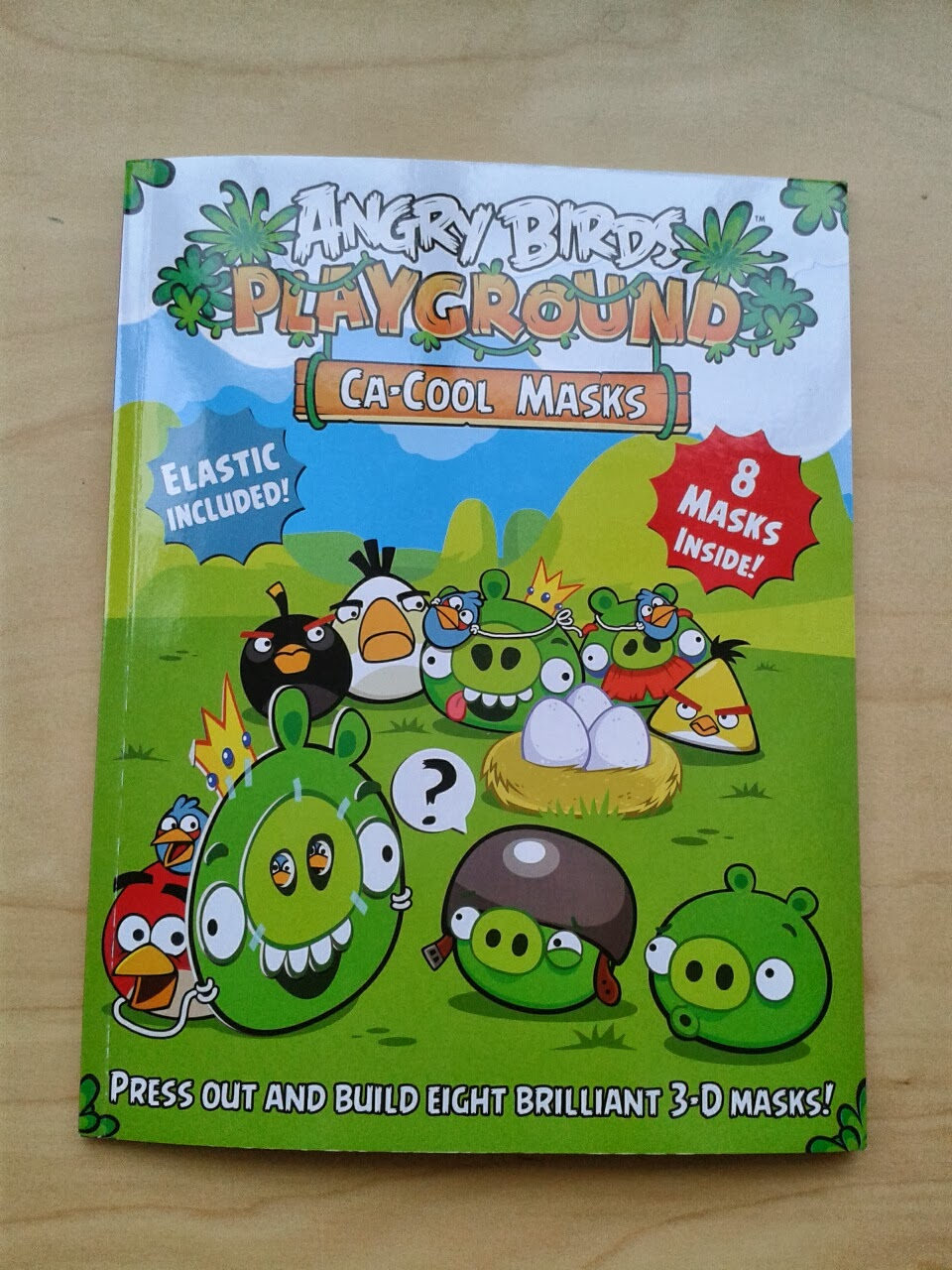 Angry Birds Playground Ca-Cool Masks
