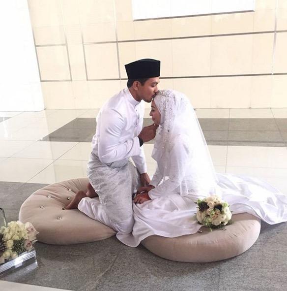 Shukri Yahaya dan Tya Adnan kini bergelar suami isteri