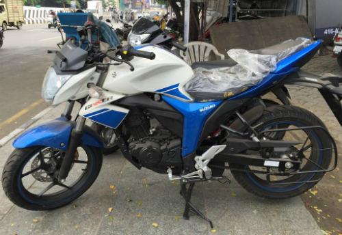 Moto Suzuki Gixxer chất lừ với giá cực rẻ 26,2 triệu