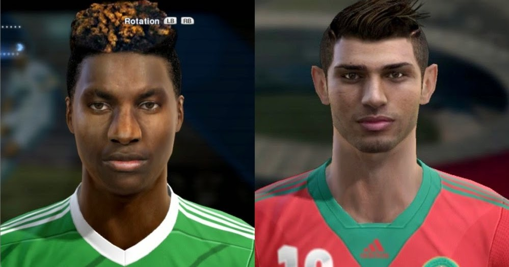 Pes 2013 St Maximin Allan And Lazaar Face By Bradpit62 Pablobyk