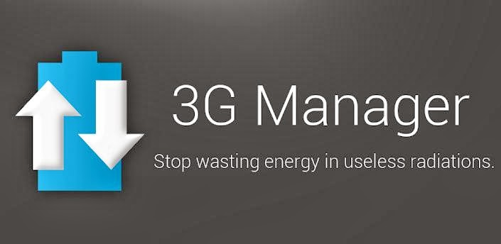 3G Manager - Battery saver apk , android apps