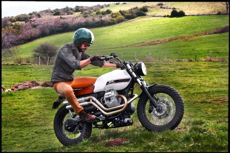 Funda asiento de moto vintage