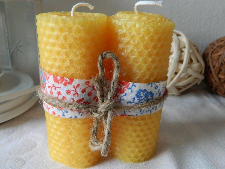 Как сделать свечи с медом 789