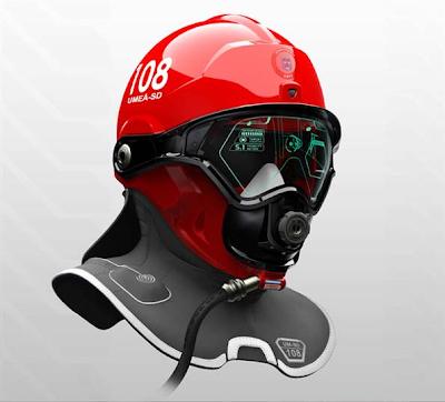 COOL : Helmet Futuristik Untuk Ahli Bomba
