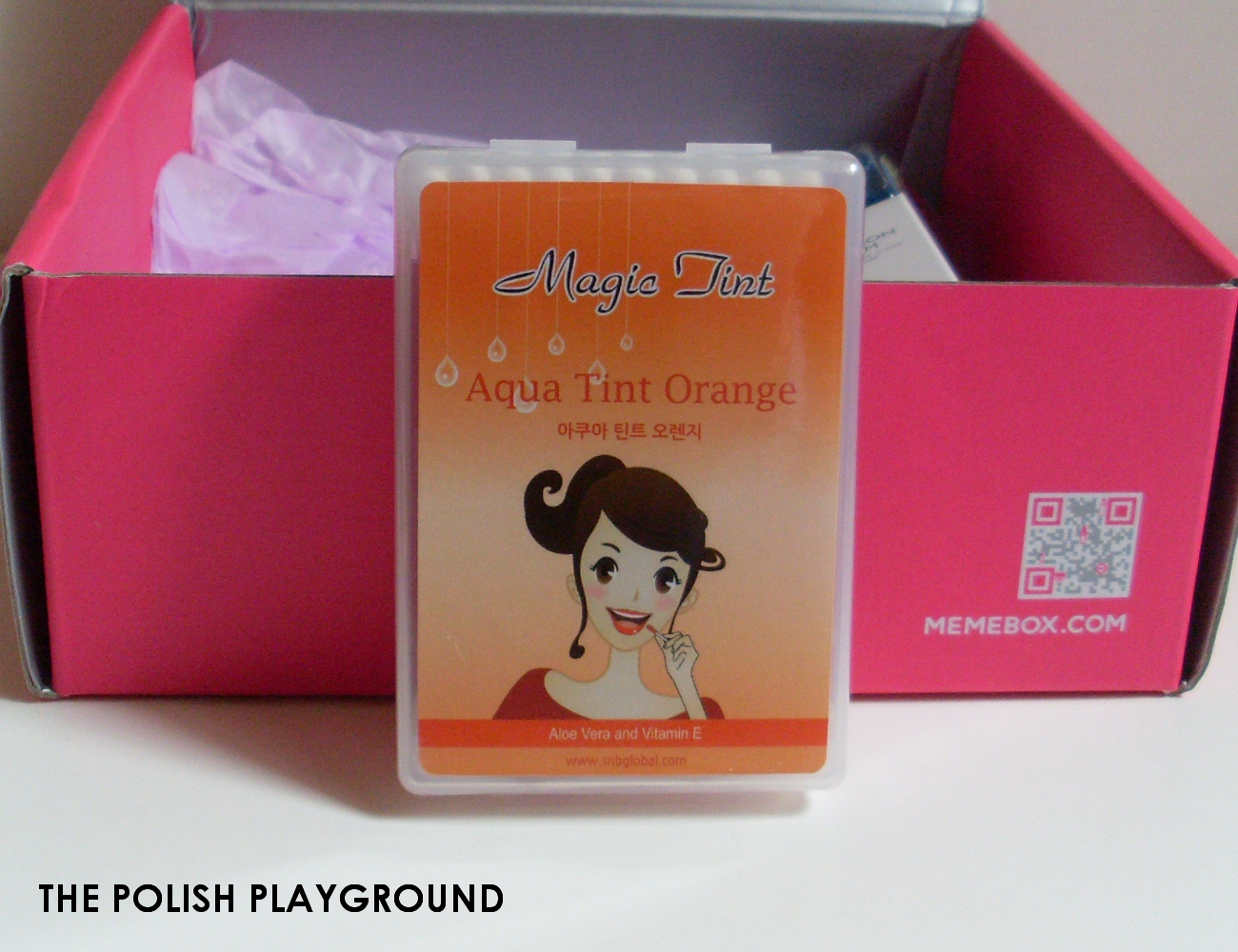 Memebox Special #25 Traveler's Beauty Kit Unboxing - S&B Aqua Tint Orange