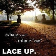 ZOOMA FB - Exhale can't, inhale can.  Lace UP.