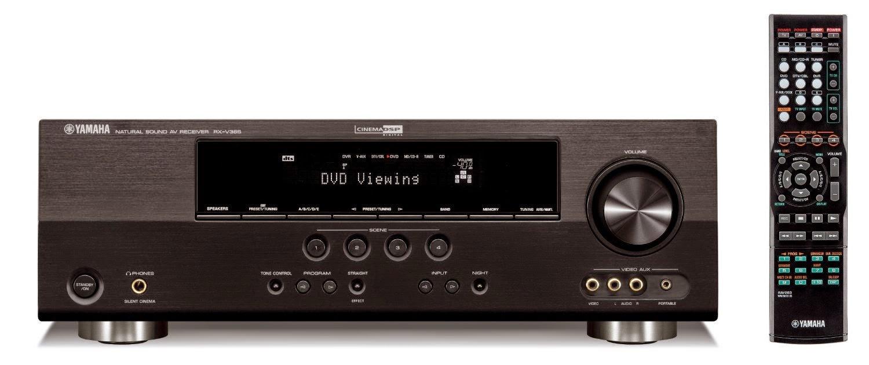yamaha rx v365 av receiver audiobaza