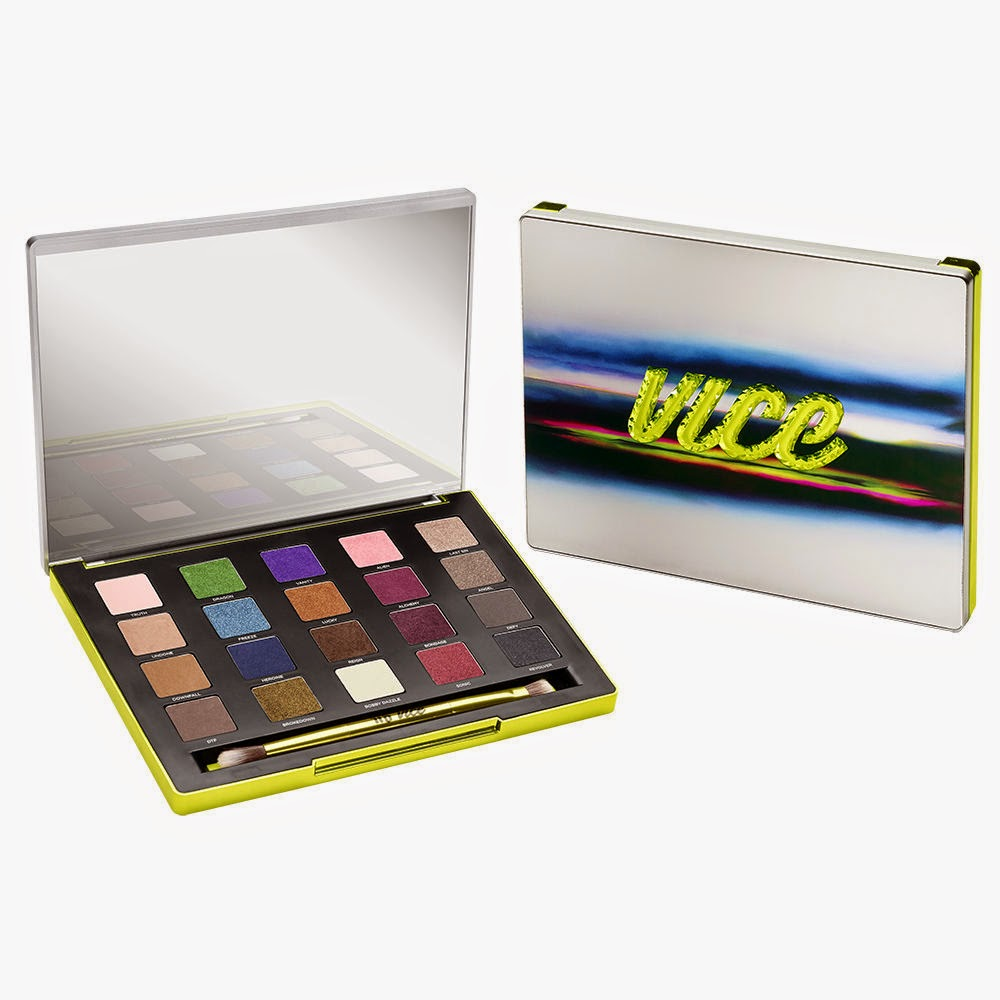 urban decay, urban decay vice 3, vice 3 palette, eyeshadow palette, eyeshadow, 2014 holiday, holiday 2014, limited edition
