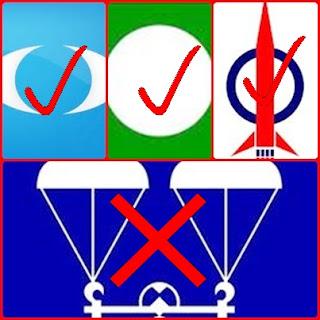 Logo Pakatan: Rakyat tahu mana nak pilih