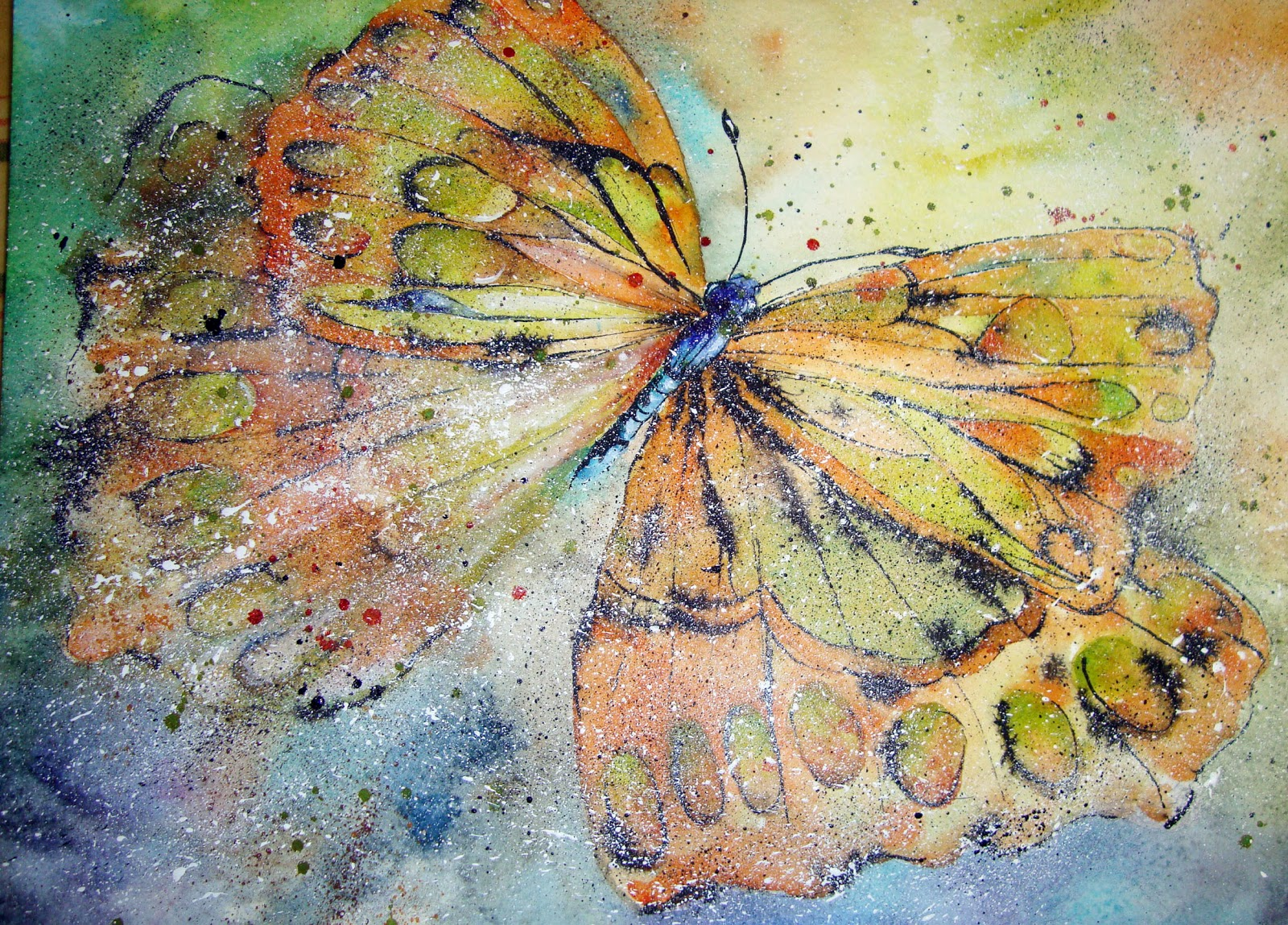 Famous butterfly paintings - photo#27