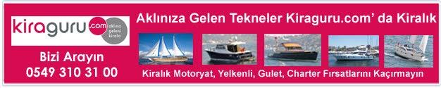 Tekne kiralama, kiralık tekne