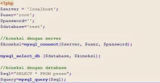 Membuat Buku Tamu dengan PHP dan MySQL