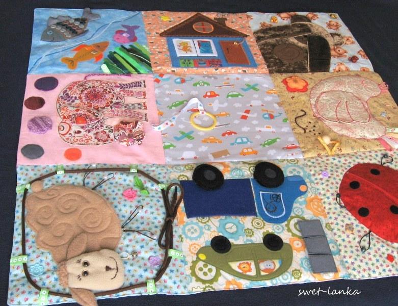 Выкройка развивающий коврик для детей своими руками 27