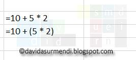 Los paréntesis facilitan la comprensión de las fórmulas.