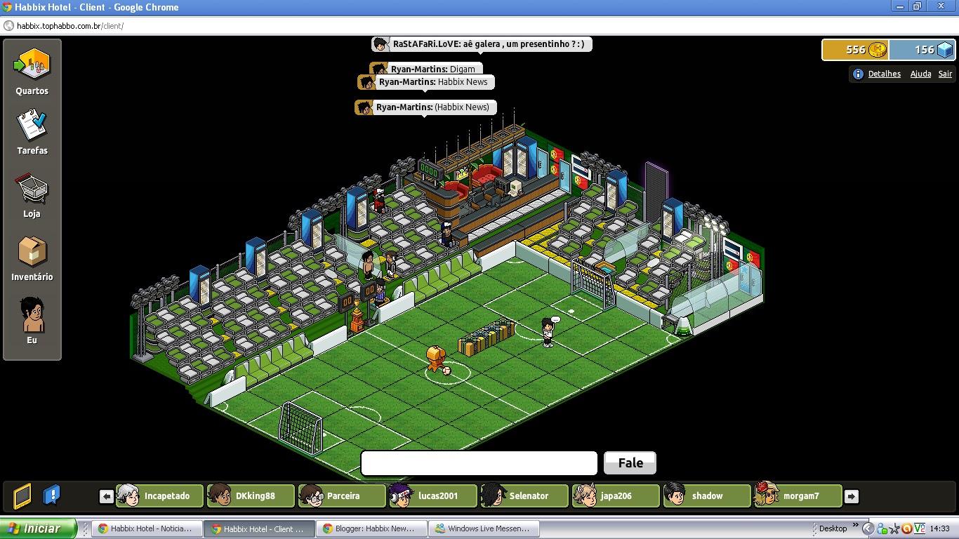 Habbix News: Resultado Da Promoção De Futebol