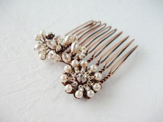 hair brooch haarbrosche bijoux mariage