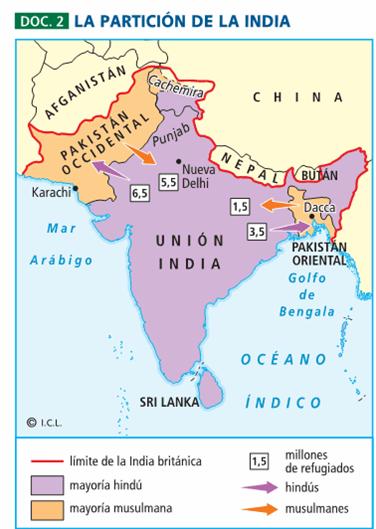 Cualquiera tiempo pasado la independencia de la india y pakist n - Tiempo en pakistan ...
