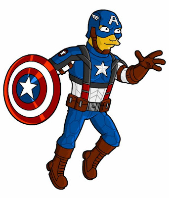 Captain_America_Marvel_Comics_Simpson
