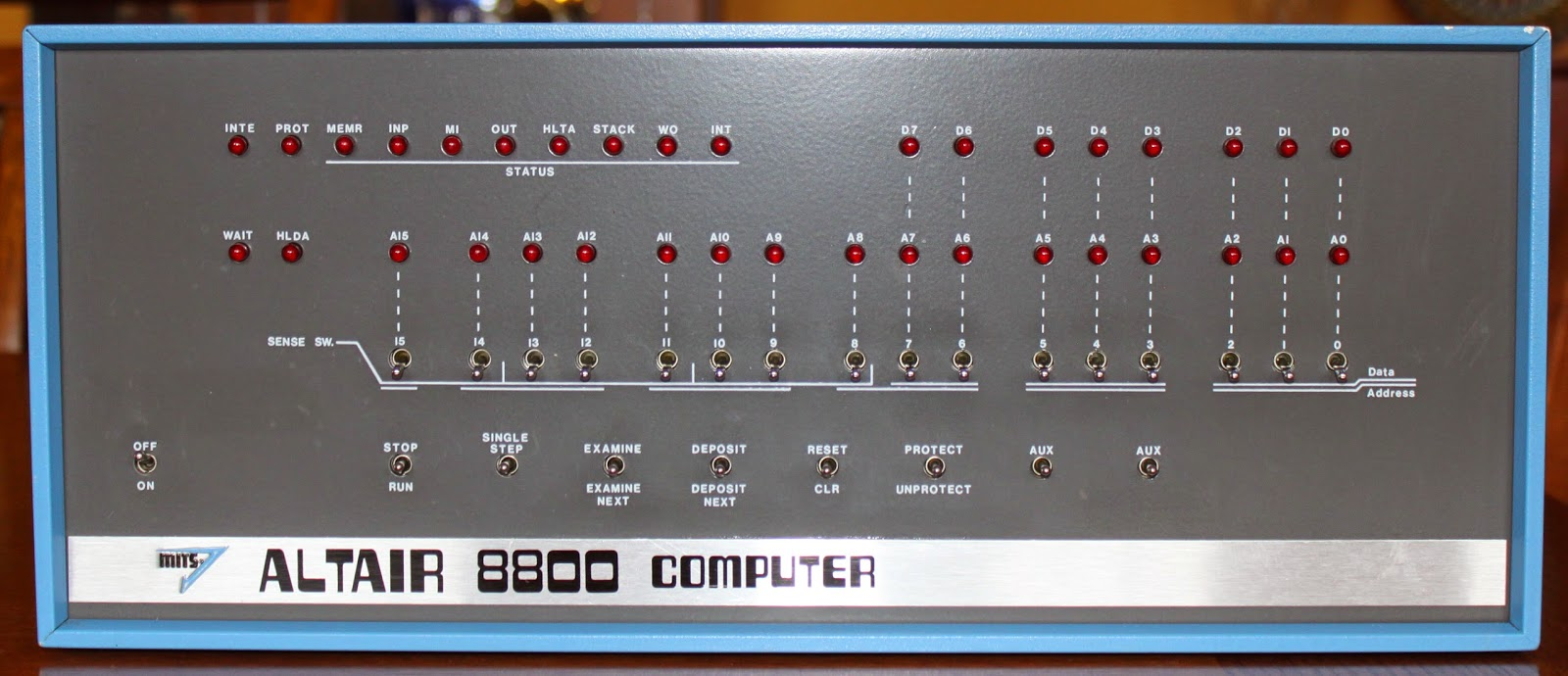 David Larsen KK4WW Computer
