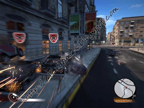 Free Download Games - Vin Diesel Wheelman