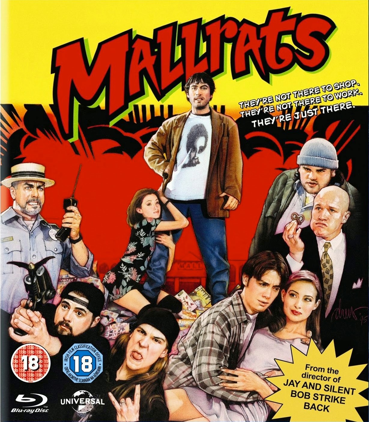 Portada Mallrats Kevin Smith