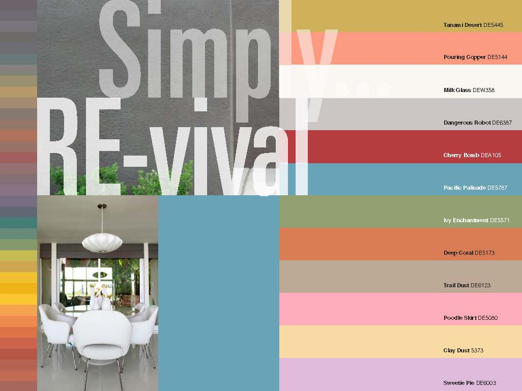 Mid century modern exterior color schemes joy studio - Modern home color palette ...