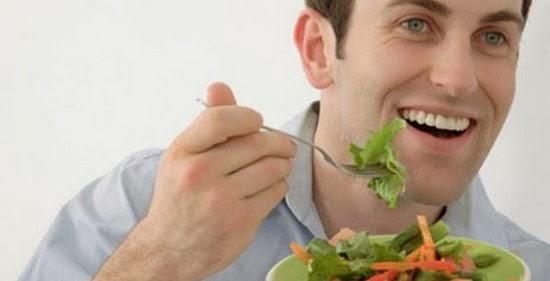 makanan sehat untuk pria