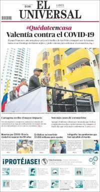 06/04/2020    COLOMBIA  UNA  PRIMERA PÁGINA DE LA PRENSA