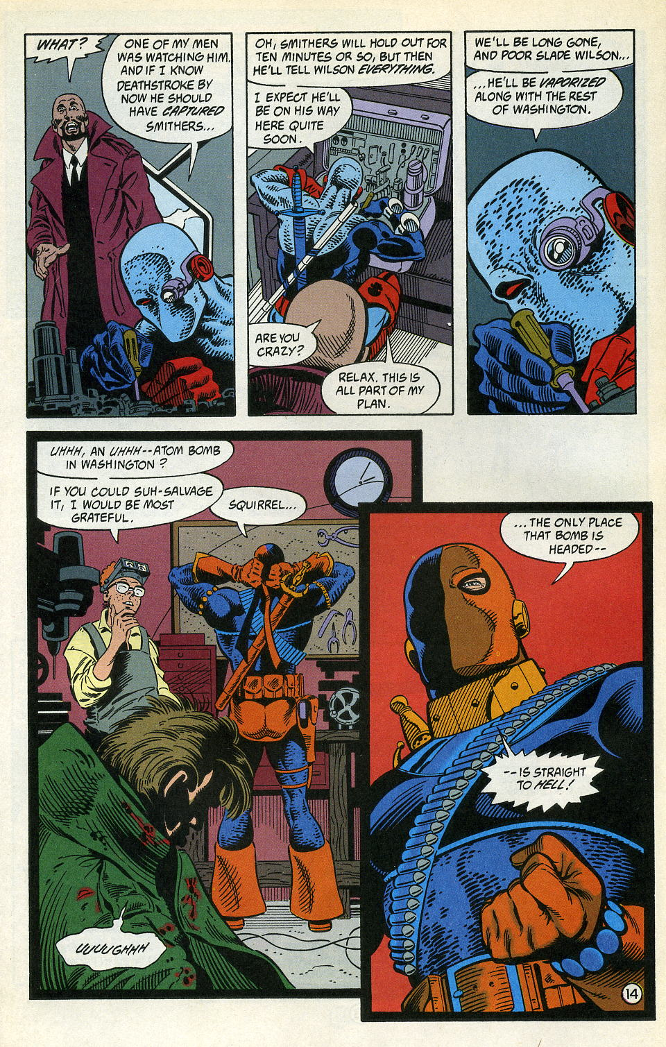 Deathstroke (1991) Issue #4 #9 - English 18