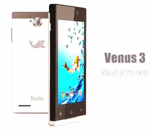 KATA Venus 3 a 4-inch, Dual-core, 5MP Camera for only Php 3,999!