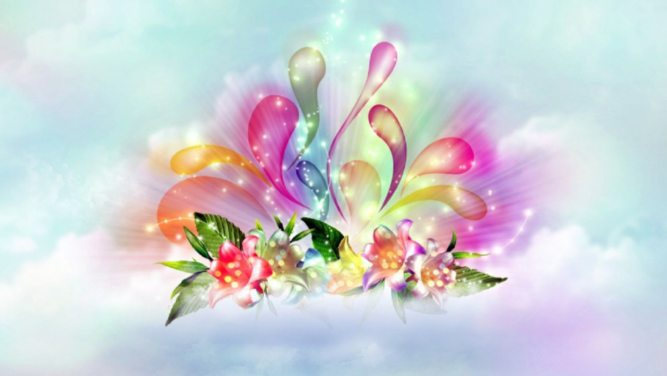 Beautiful wallpapers free beautiful abstract flowers Beautiful flowers images